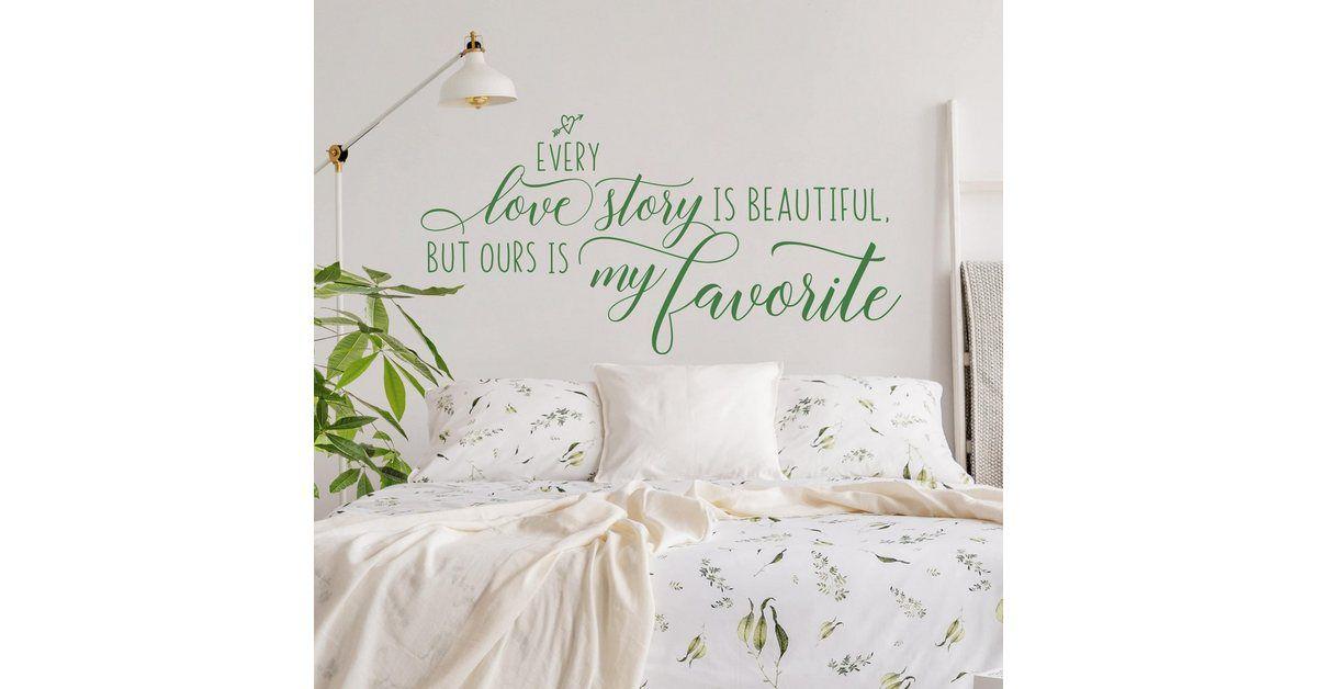 Wandtattoo »Favorite Love Story«