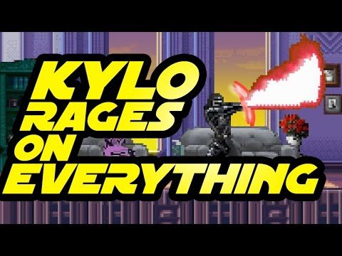 Kylo Ren FREAKS OUT in Everyday Situations | Star Wars Force