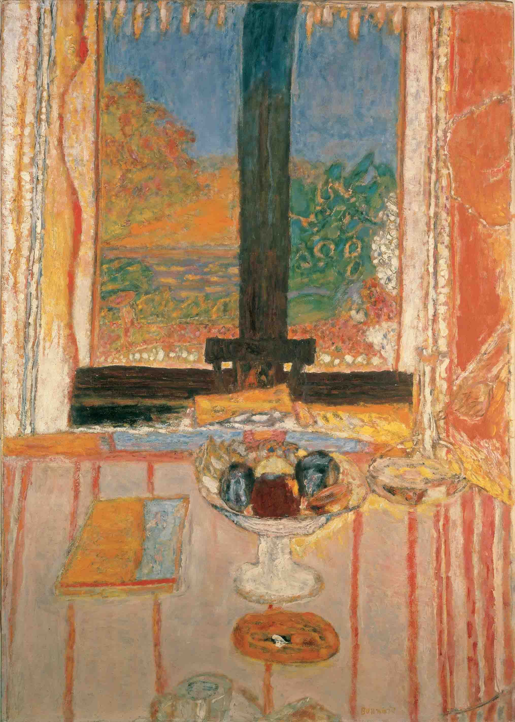 Pierre Bonnard Table In Front Of The Window 1934 35 With