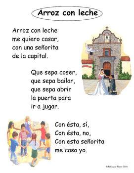 Ayer Y Siempre Spanish Nursery Rhymes With Images Nursery