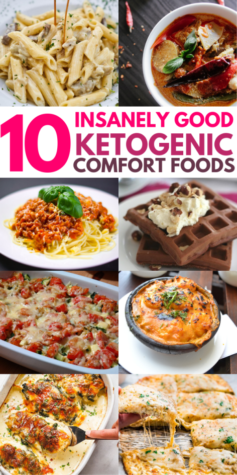 10 Insanely Good Keto Comfort Foods To Make You Feel Better images