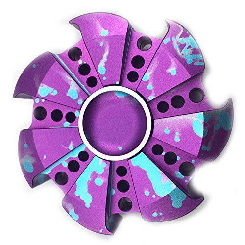 Uspeedy EDC Cool Rotary Wheel Shaped Hand Spinner Fidget .