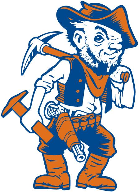 Utep Miners Mascot Logo Mascot Sports Team Logos Football Team Logos