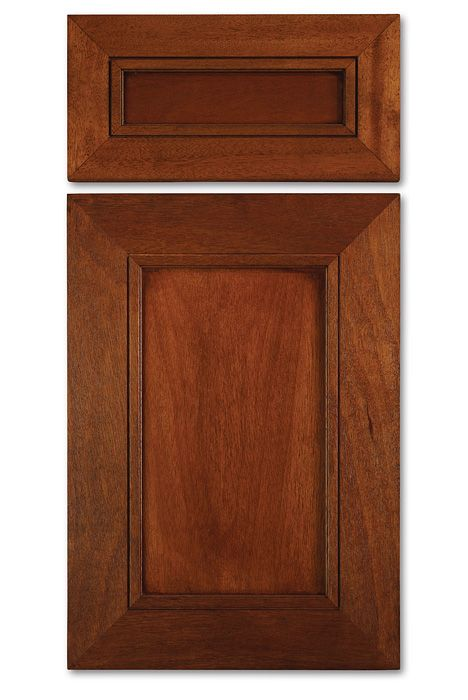 Mitered Cabinet Door In African Mahogany With Stain Mw4 Mitered