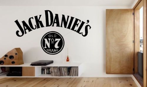 Large Jack Daniels Wall Art Sticker Decal by StickWithMeDesigns ...