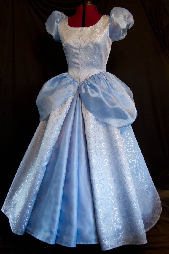 Adult Princess Cinderella Stage Costume Deluxed  Fancy Cosplay Dress US SHIP