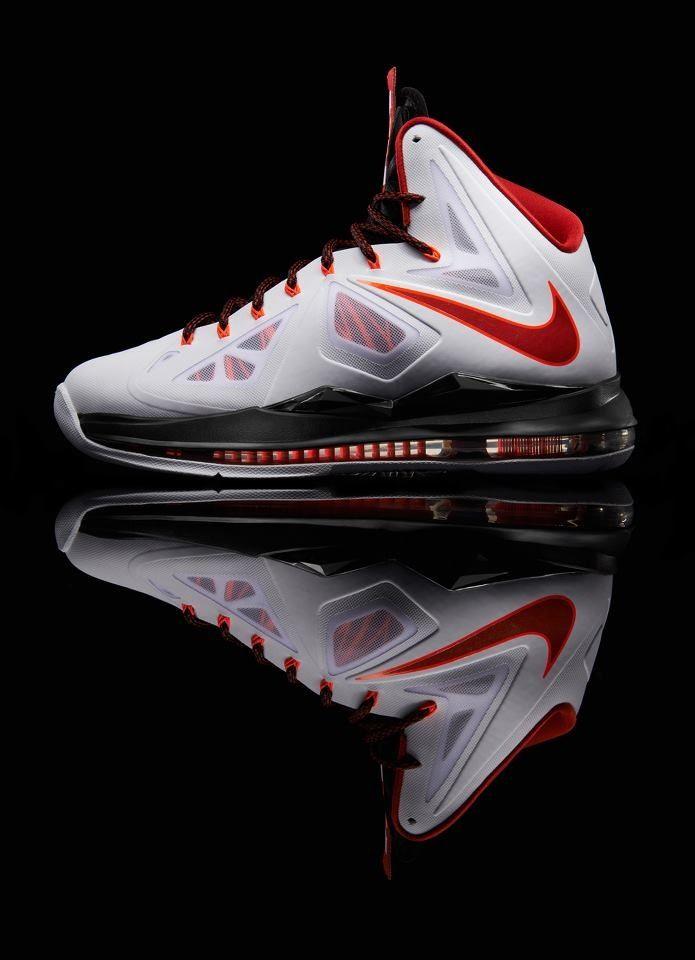Nike Lebron X White Sneakers Pinterest Tenis Zapatillas y