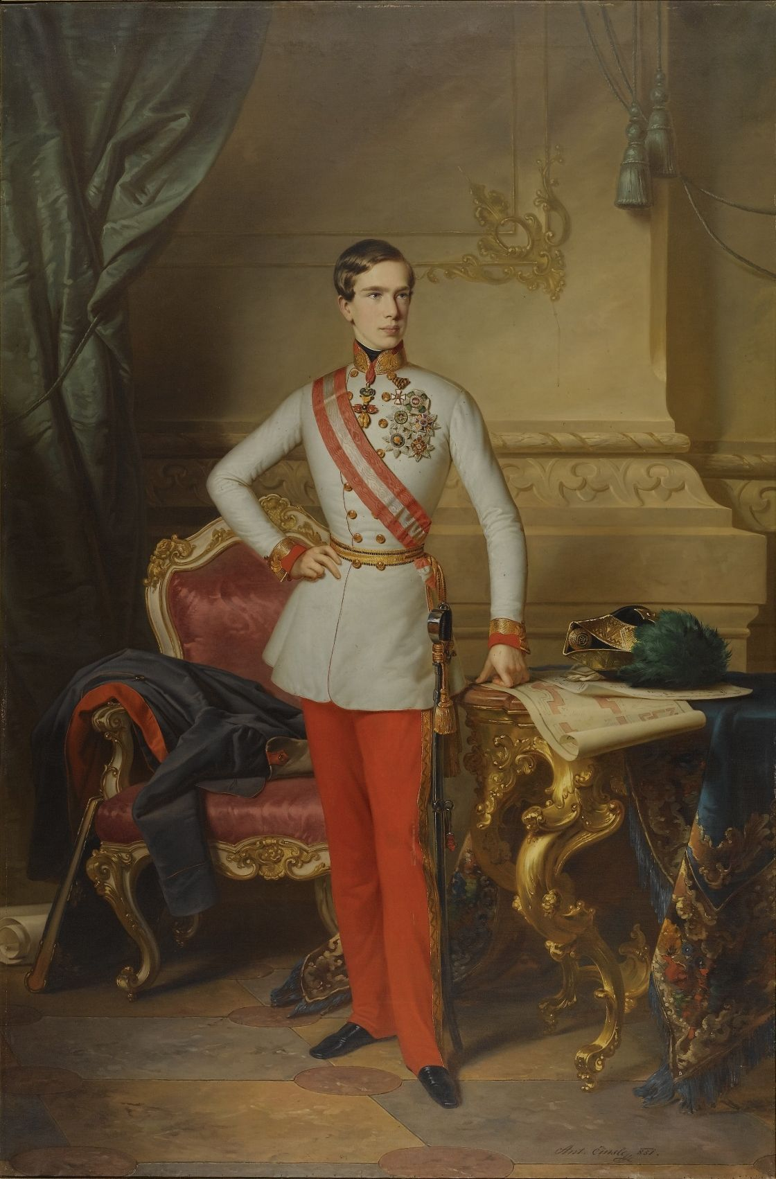 Kaiser Franz Josef I, 1851
