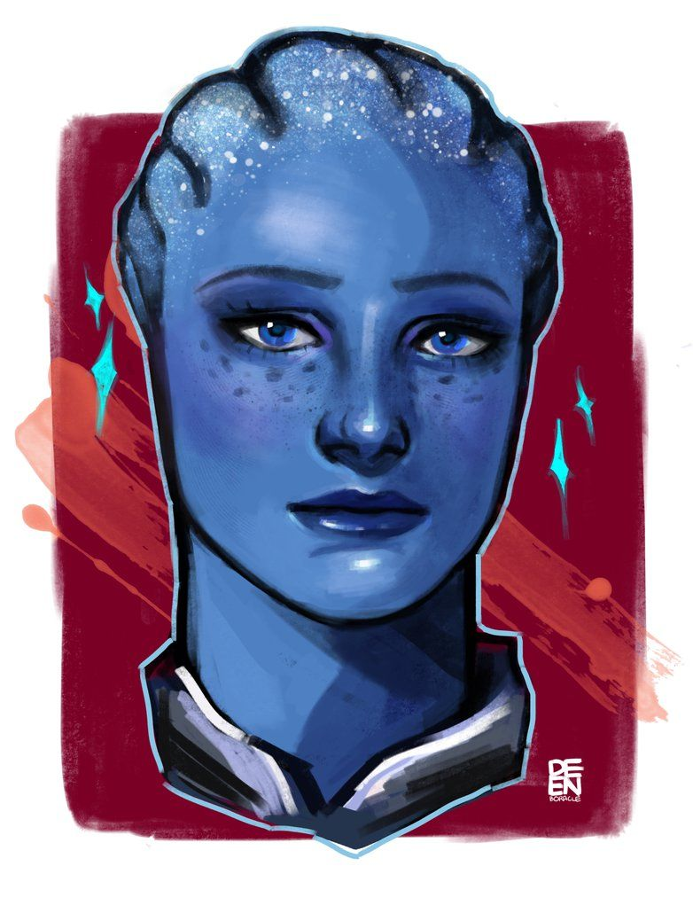 Liara Tsoni By Deenqueen On Deviantart Mass Effect Universe