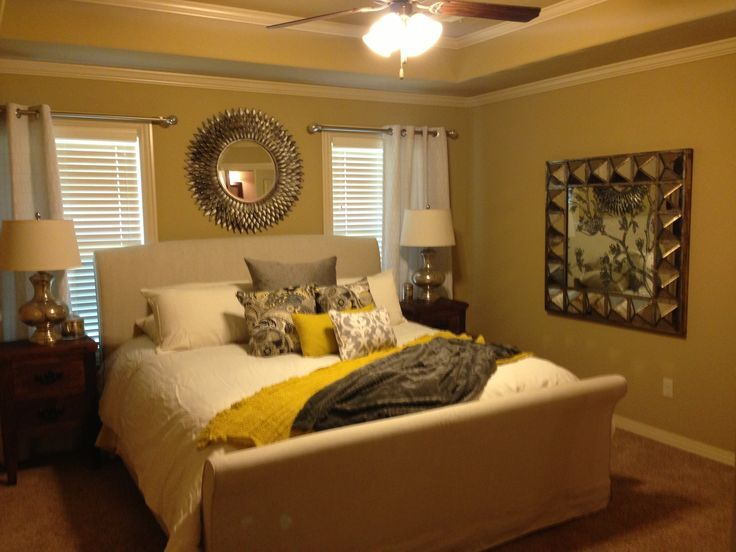 Mustard Bedrooms My Mustard And Grey Bedroom Bedroom Decor
