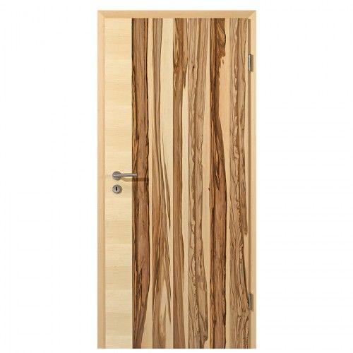 Satin Nussbaum Querla 3 Echtholzfurniert Innentür - ab 249,00 € - mehr davon auf deinetuer.de