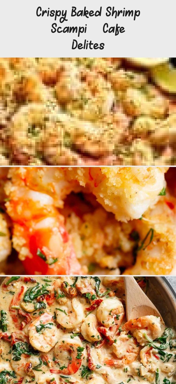 Crispy Baked Shrimp Scampi – Cafe Delites #shrimpscampi