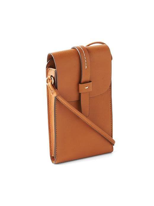 81317d80e64b Gap Womens Small Crossbody Bag Cognac