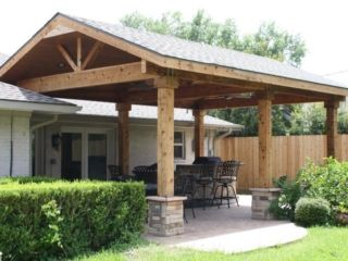 Open Gable Roof 6 | Patio decor, Patio furnishings, Patio ...