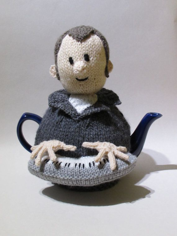 Music Man Tea Cosy Knitting Pattern by TeaCosyFolk on Etsy ...