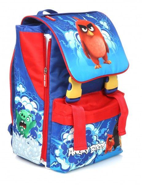 Zaino Scuola Elementare Angry Birds per Bambini colore blu - TocTocShop.com…