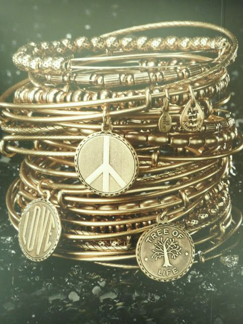 Alex and Ani bracelets from Rhode Island. Love!