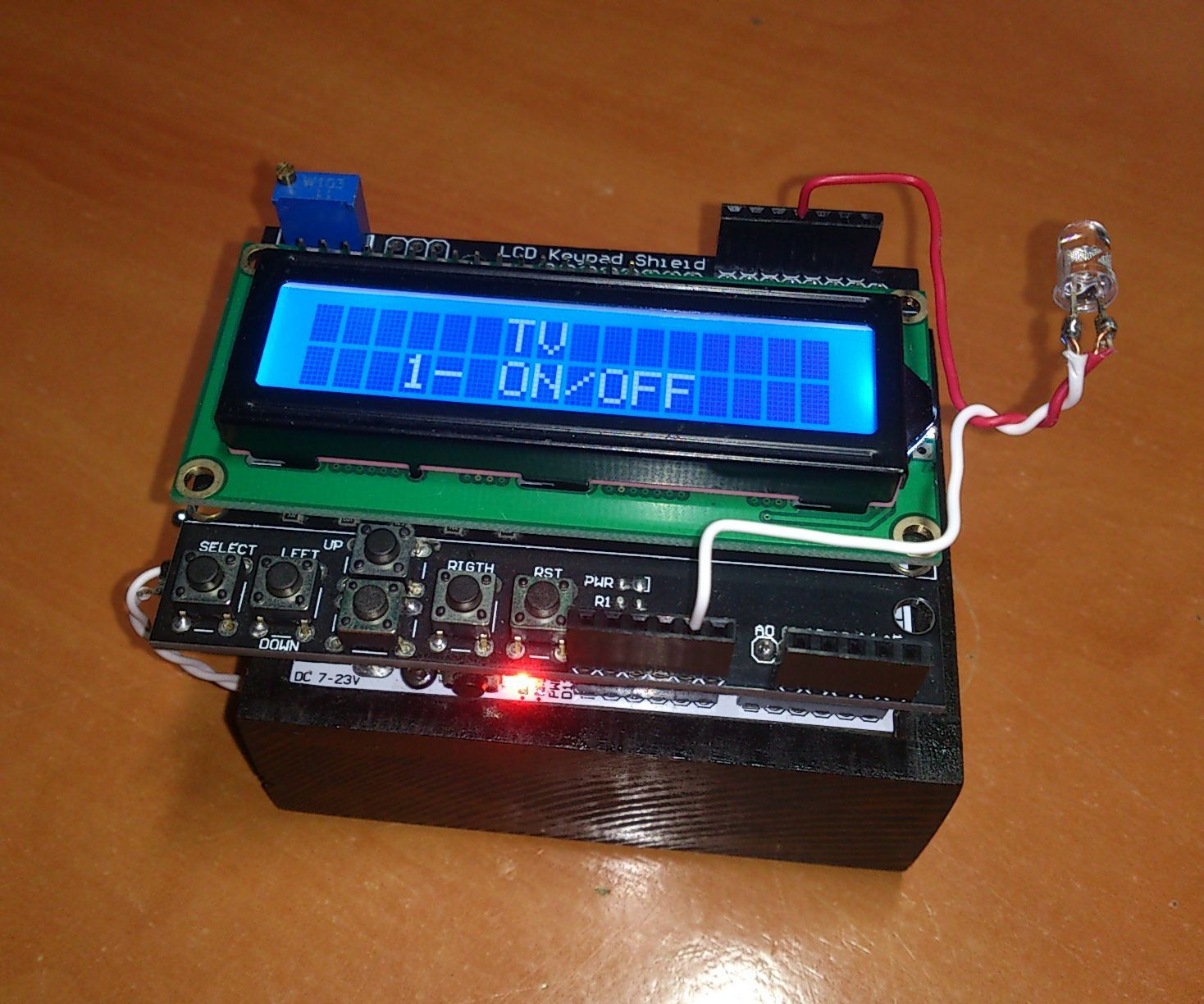 Arduino Controlled Can Crusher With Lcd Readout Use Arduino For