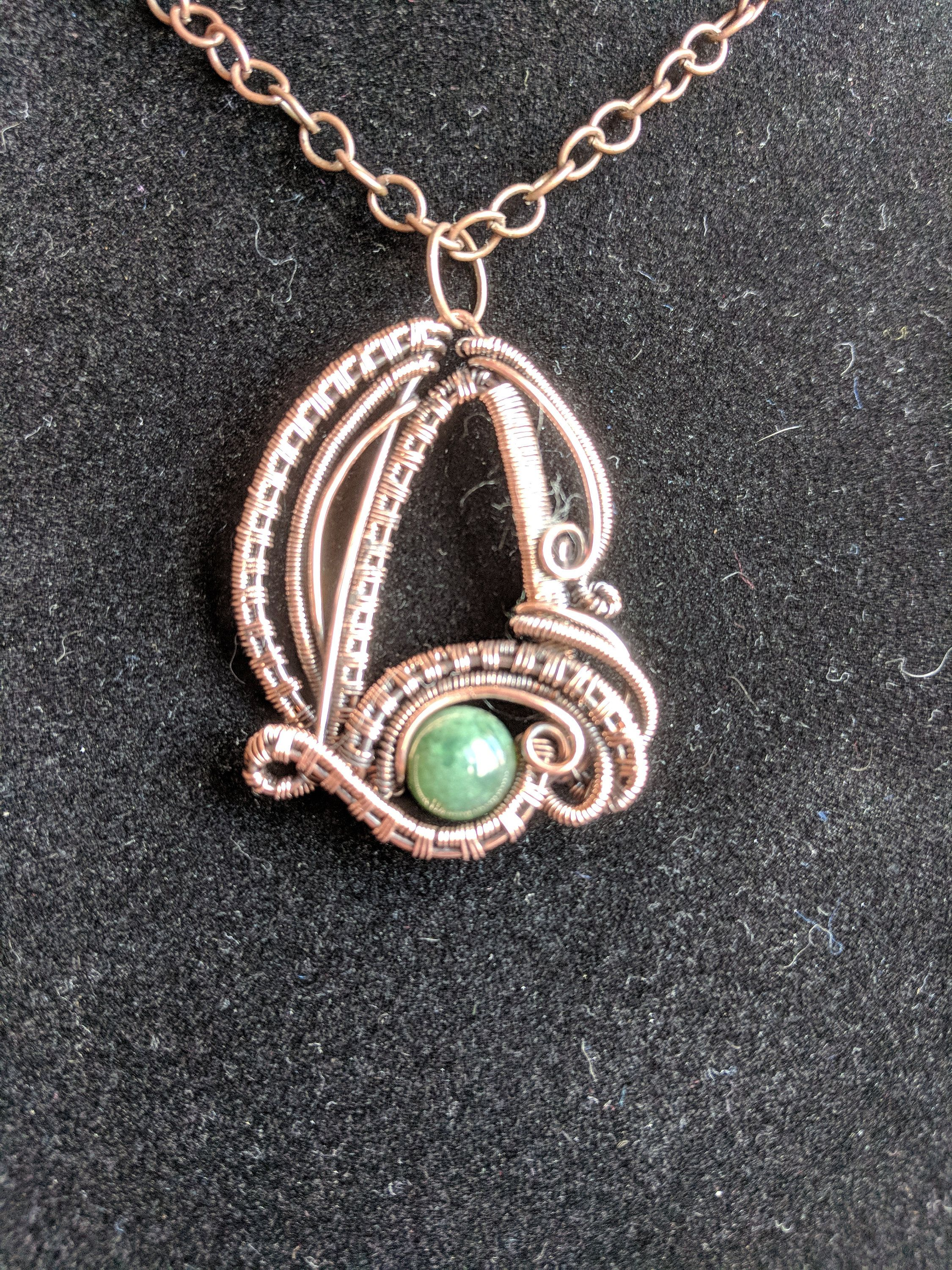 Third eye pendant third eye necklace copper wrap third eye wire third eye pendant third eye necklace copper wrap third eye wire wrap pendant gift for girlfriend gift for her gift for mom mozeypictures Image collections