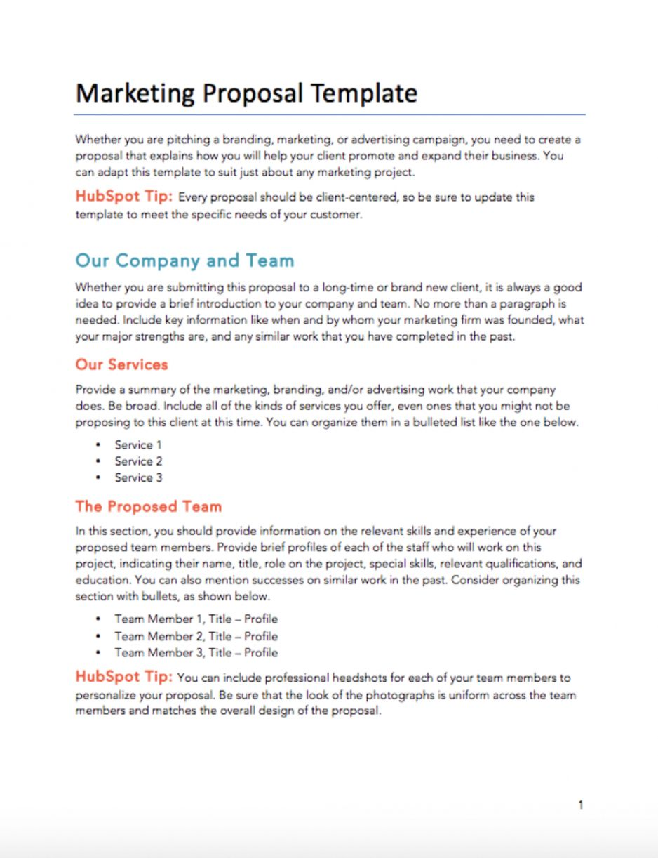 Managed Service Provider Proposal Template Marketing Proposal Marketing Proposal Template Proposal Templates