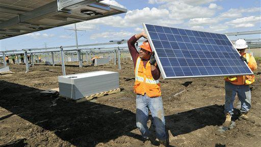 LINCOLN, Neb. (AP) — What state officials say will be Nebraska's largest solar energy project is expected to begin tracking the sun and delivering some of its power by June