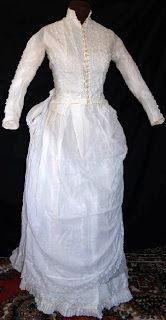 summer dress, muslin with hand embroidered detail.