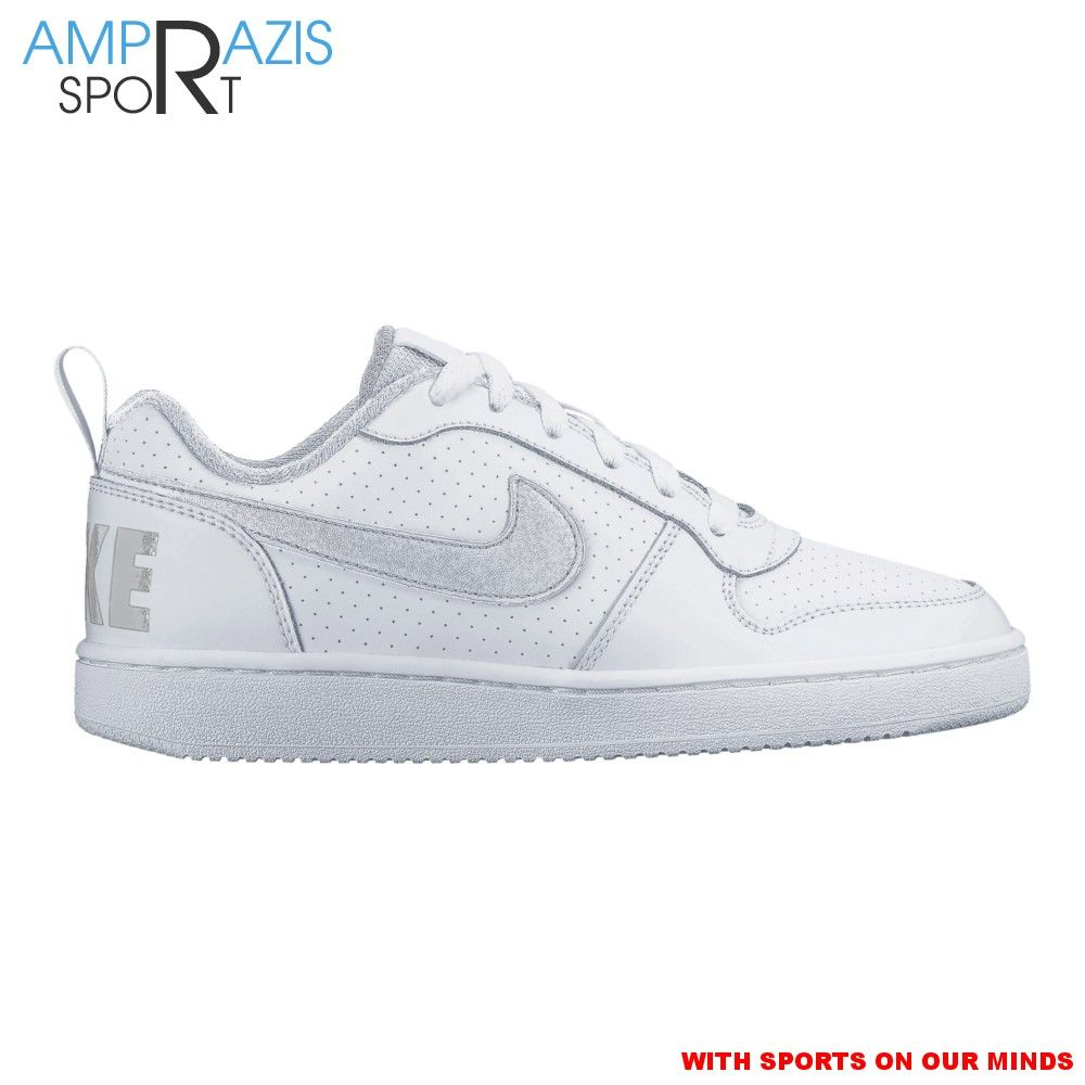 Nike Court Borough Low total white GS (sizes 36 to 40
