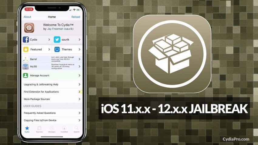 Download Cydia for iPhone Xs Max and below devices Party