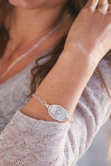 bright heart bracelet {sterling silver}