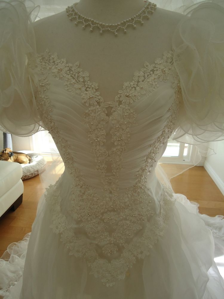 VINTAGE JEAN PHOENIX BRIDAL  This gown sold like crazy in