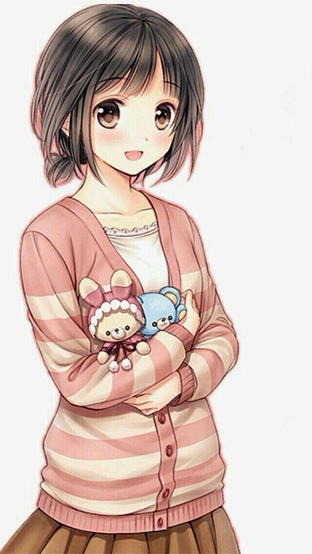 Картинки аниме детей девочек