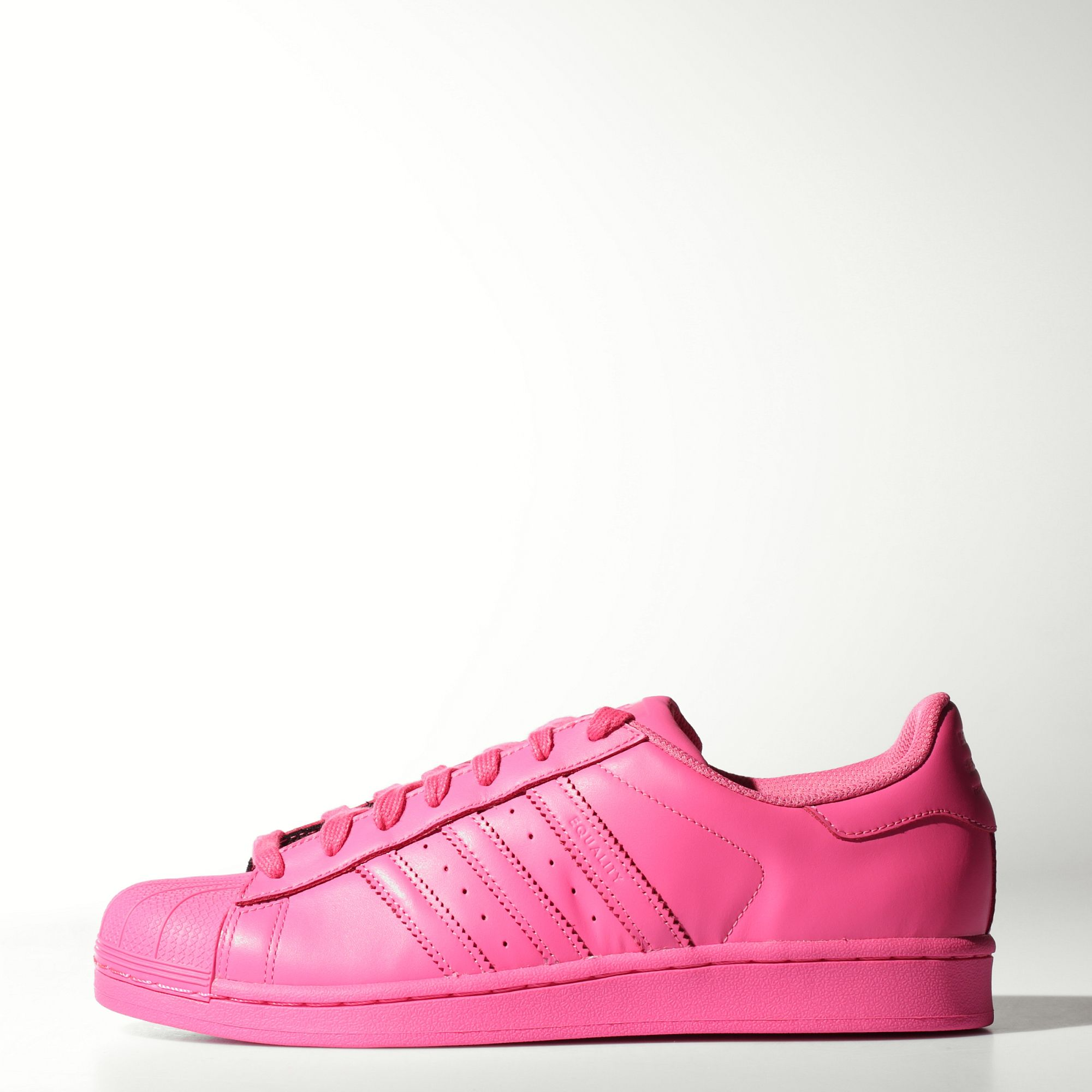 zapatillas adidas rosas superstar