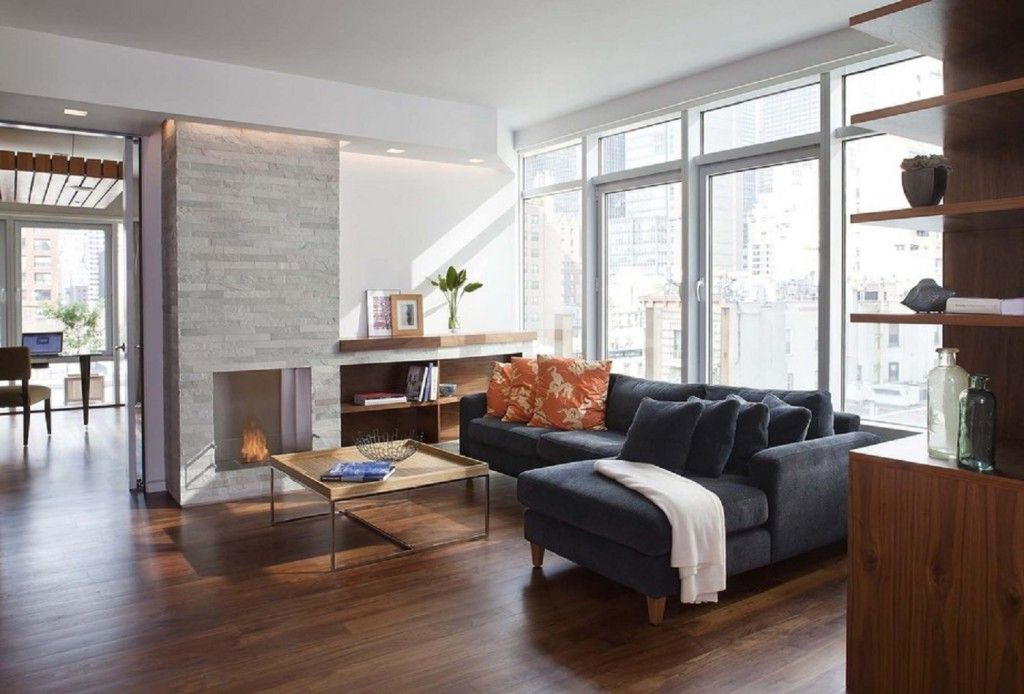 Modern Meets Luxury In These NYC Living Rooms | The Living ...