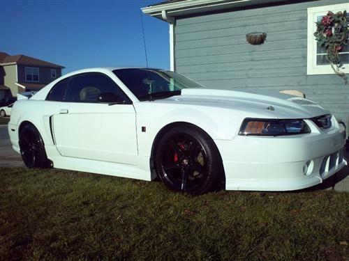 99 04 Saleen Mustang Mustang 95 Cobra R Fiberglass Hood 2 5 99