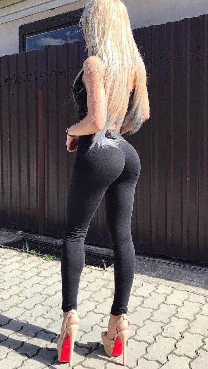 Skinny tight black ass