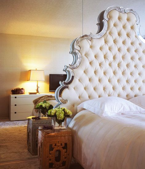 Inspirational Tufted Headboard Bed  Inspiration