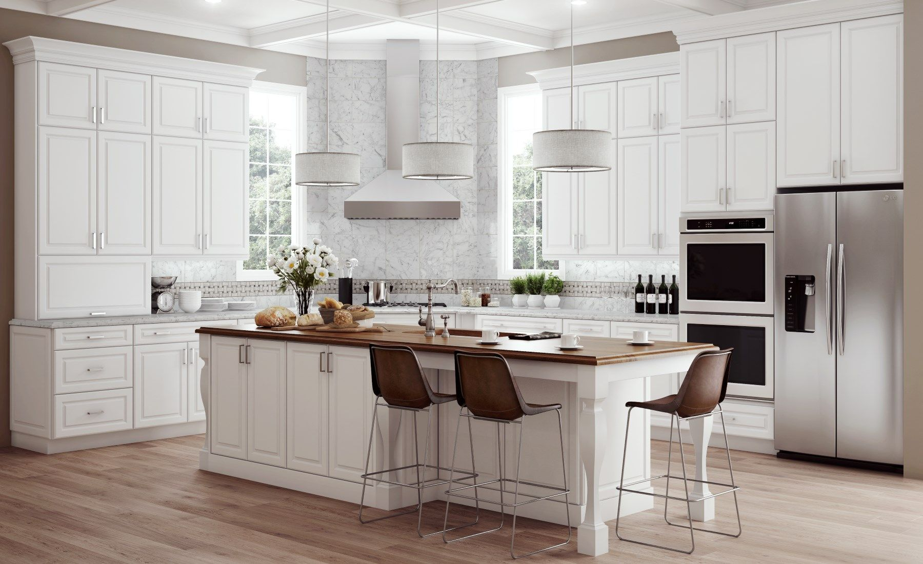 Hampton Bay Designer Series - Designer Kitchen Cabinets available at ...