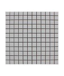 Pool Unglazed White 23x23mm Mosaic