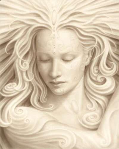 me gusto este  por la razon que expresa o puede ser entendido como queexprsa a belleza sin nada mas es decir como es naturalmente. Tambien por el detalle que se impone en el pelo y los rizos, las proporciones de la cara tambien se ve como muy suave hasta el detalle mas pequeño como las pestañas.