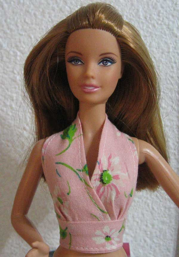 Barbie halter set tutorial | Barbie | Pinterest | Barbie, Barbie ...