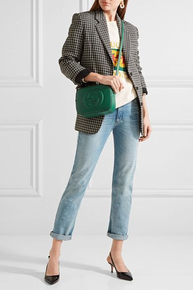 3a1a83dc6 Gucci - Soho Disco textured-leather shoulder bag in 2019 | Things to ...