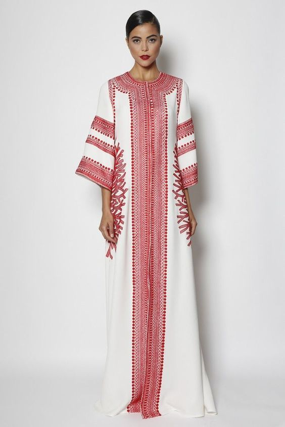 naeem khan kaftan abaya designs for modish women (5)  3fe8f3baa2c0