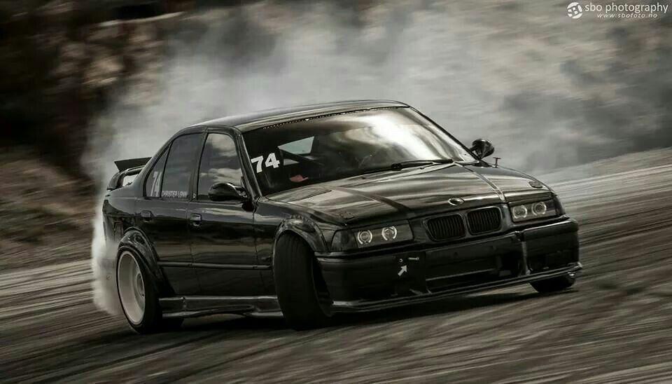 Bmw E36 M3 Black Drift Bmw E36 Bmw E36 Drift Bmw