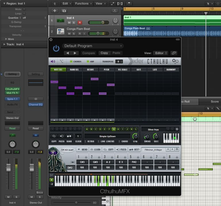 4 Excellent MIDI FX Arpeggiators and Sequencers for Logic Pro X >>> http://bit.ly/1mQptLD