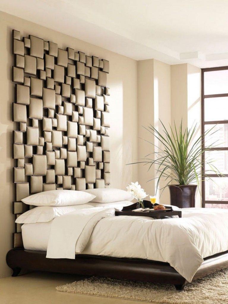 padded stacked blocks unique headboards modern bedroom design padstyle.com