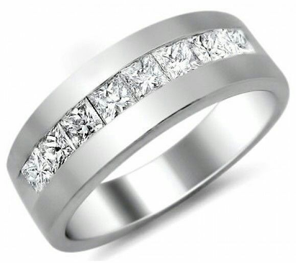 Mens Platinum Diamond Wedding Bands Diamond Wedding Bands