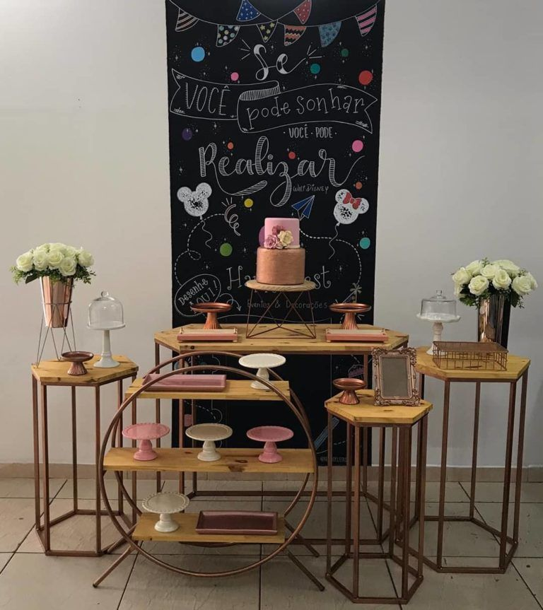 Festa rose gold: 30 ideias e tutoriais para usar a...