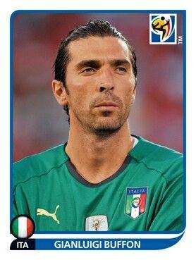 412 Gianluigi Buffon Italia Fifa World Cup South Africa 2010 Lendas Do Futebol Copa Do Mundo Futebol