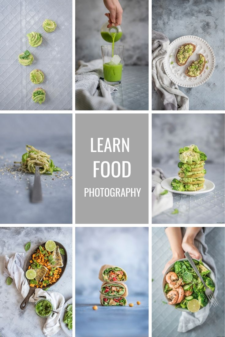 Free 21 Food Photography Cheat Sheets - Healthy Laura