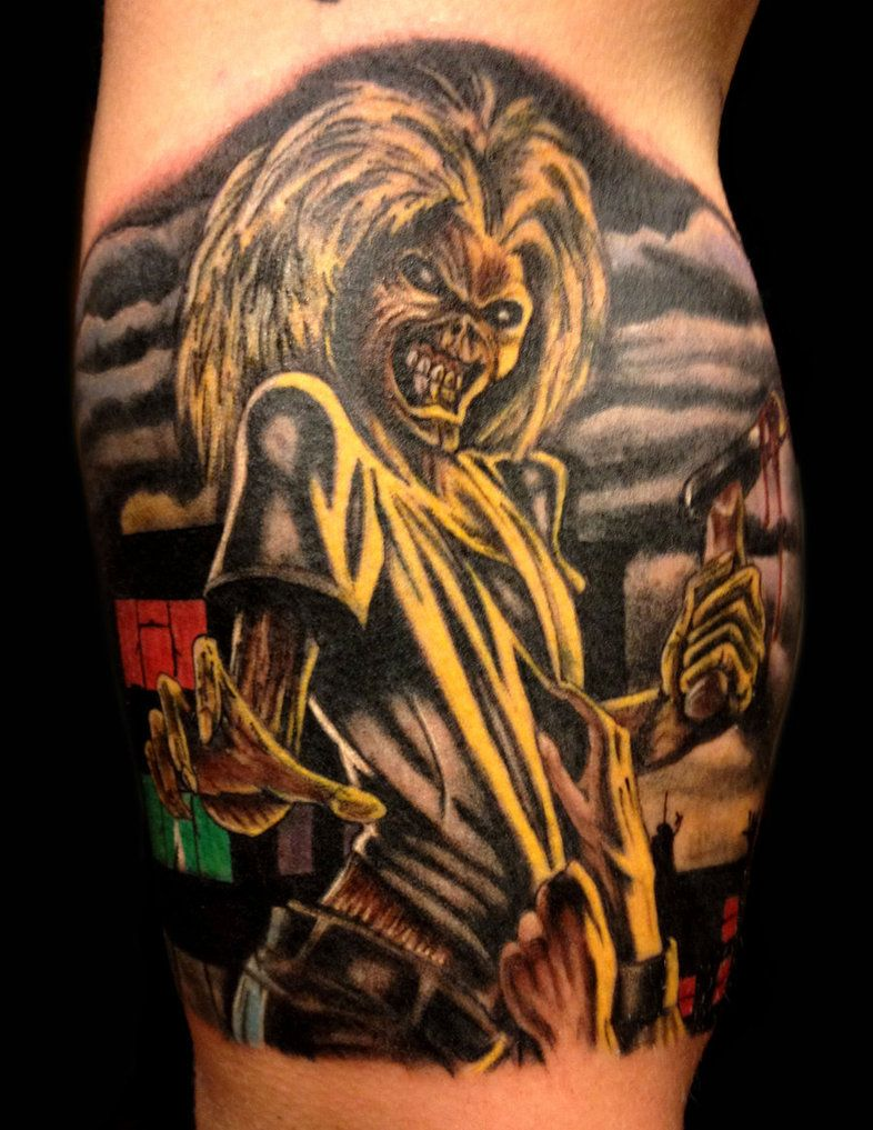 iron maiden eddie eddie tattoos pinterest tattoo music tattoos and tatoos. Black Bedroom Furniture Sets. Home Design Ideas